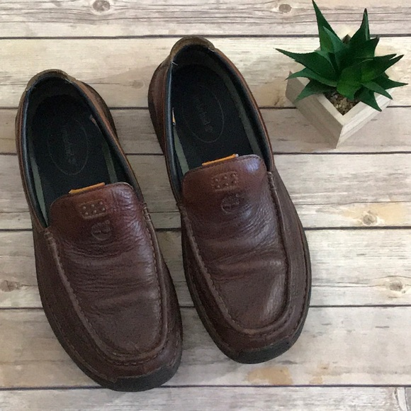 5a1ab0e449d Leather 105 Saluto Shoes Poshmark Sz Loafers Mens Timberland qt8ZYwE8